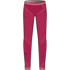 Odlo Performance Warm Pants Kids, cerise/fruit dove